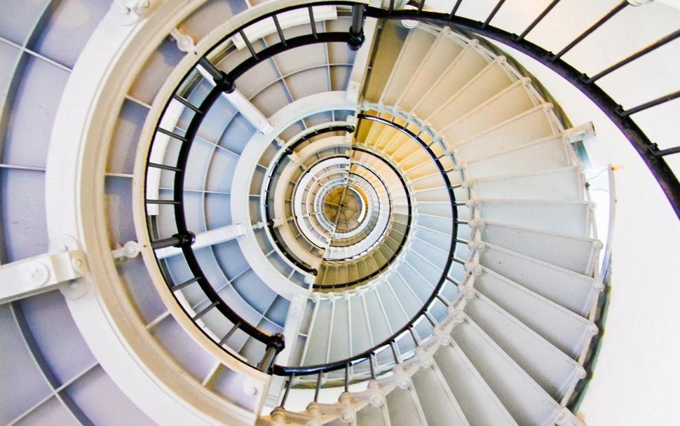 Image Spiral Staircase BarbaraFicarra.com