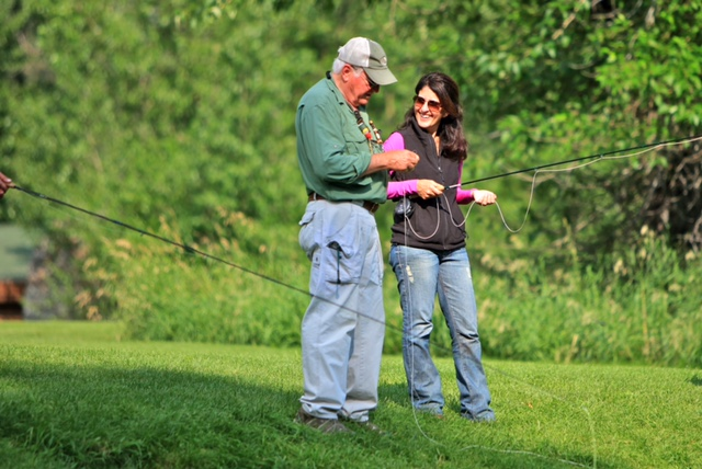 Design a Happy and Healthy Home and Life Image Learning to Fly Fish in Montana Barbara Ficarra BarbaraFicarra.com