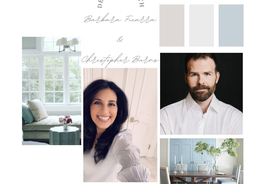 Barbara Ficarra, RN, BSN, MPA, Health Designer™ and Christopher Burns Interior Designer --Intersection of Health + Design